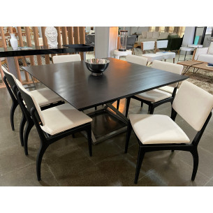 Sala de Jantar com Mesa e Seis Cadeiras Completa 33
