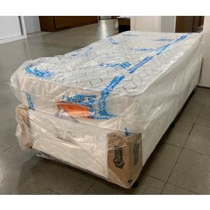 Cama Box de Solteiro com Colchão e Sumier MNCCOL0001